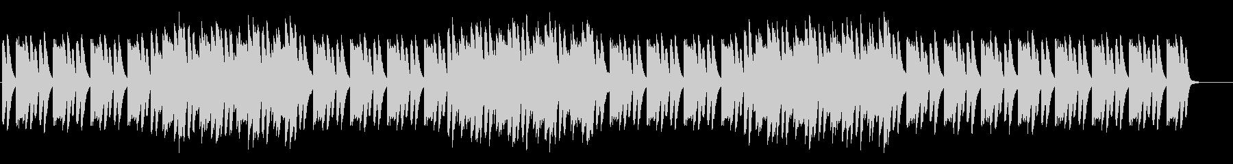 音数の少ないシンプルなミニマル系の未再生の波形