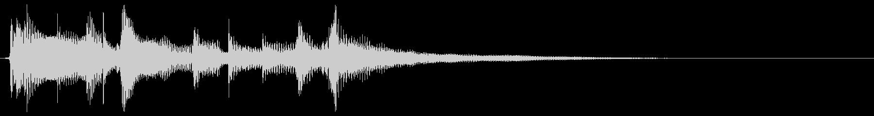 場面転換/アコースティックギターの未再生の波形