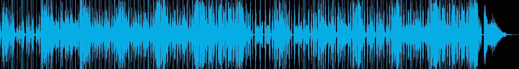 コメディやギャグに適したBGM cの再生済みの波形