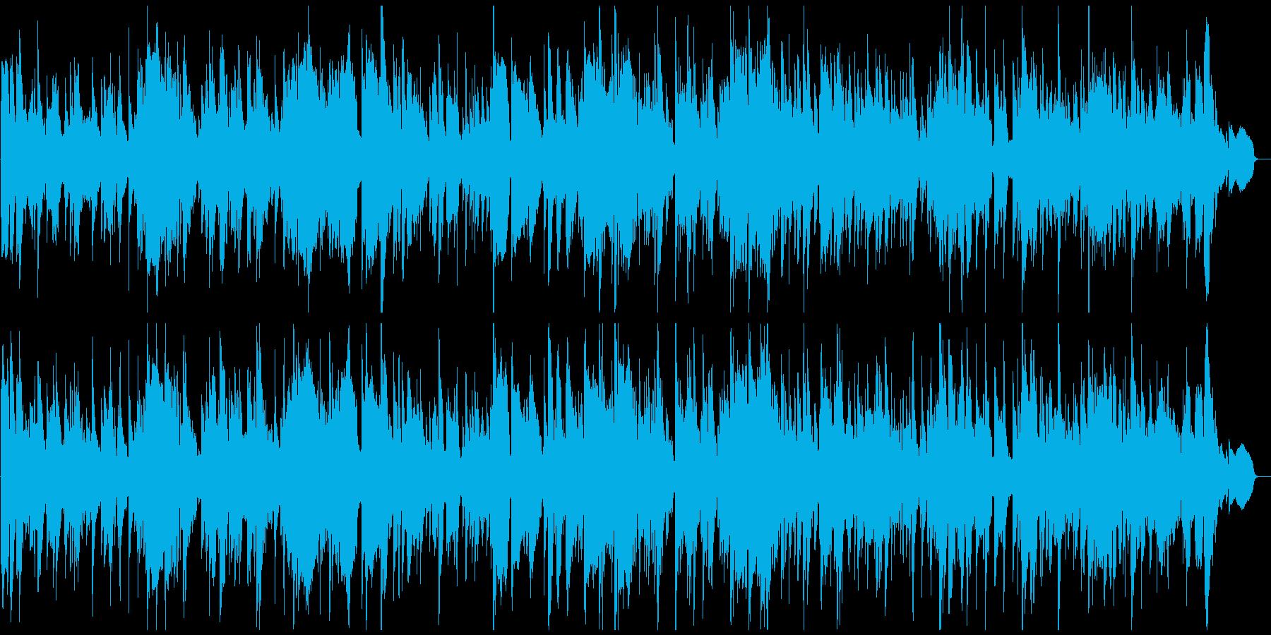 暖かい幸せなジャズ・バラード、ロマンスの再生済みの波形