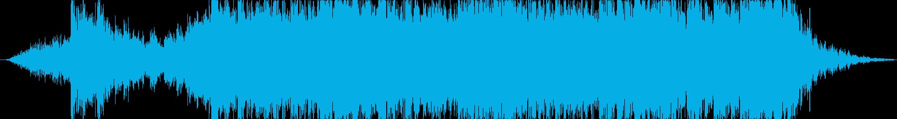 ハリウッドトレイラー風のジングル2の再生済みの波形