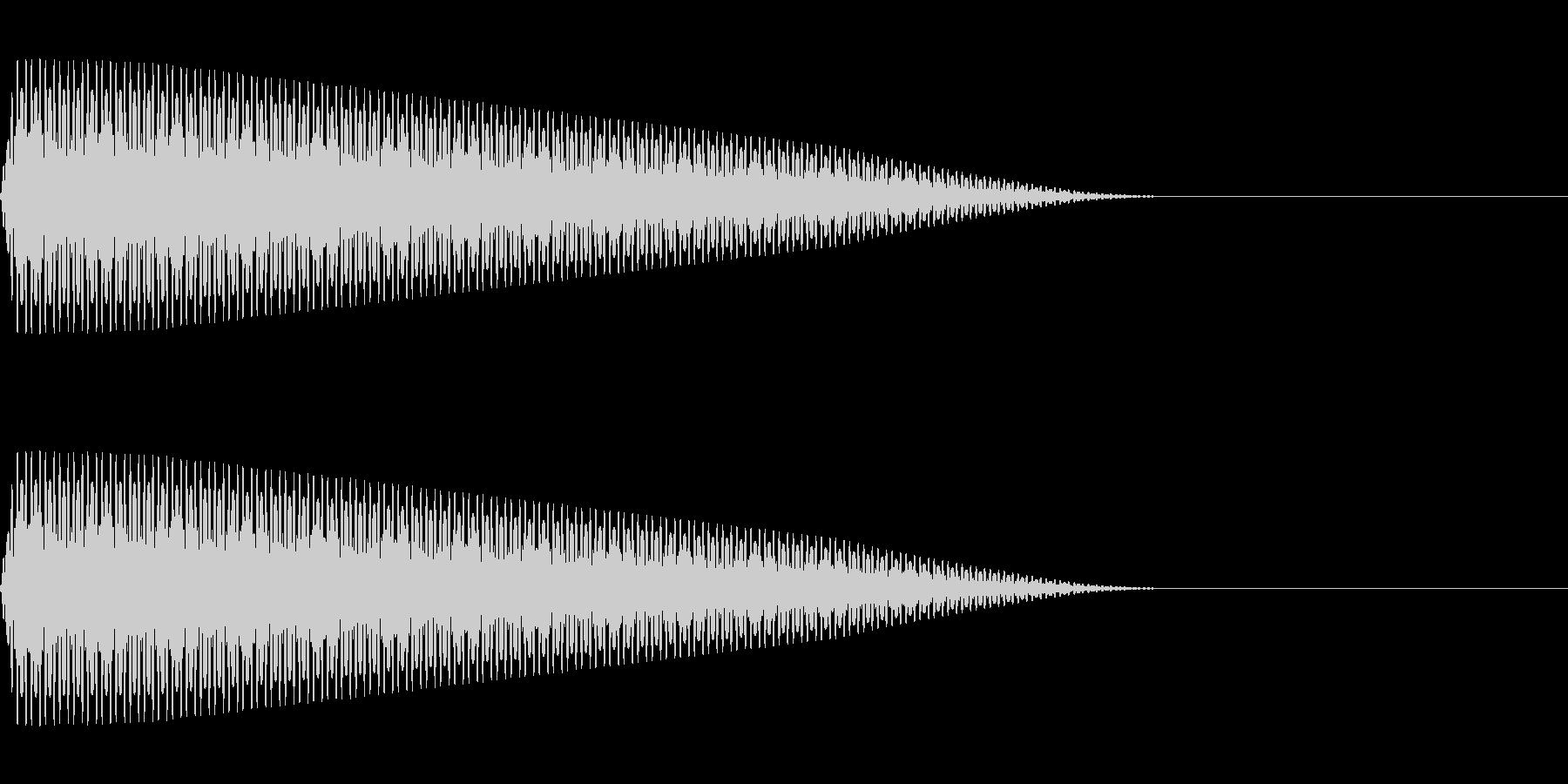 ピー(ノイズ/アラート/実験/科学の未再生の波形
