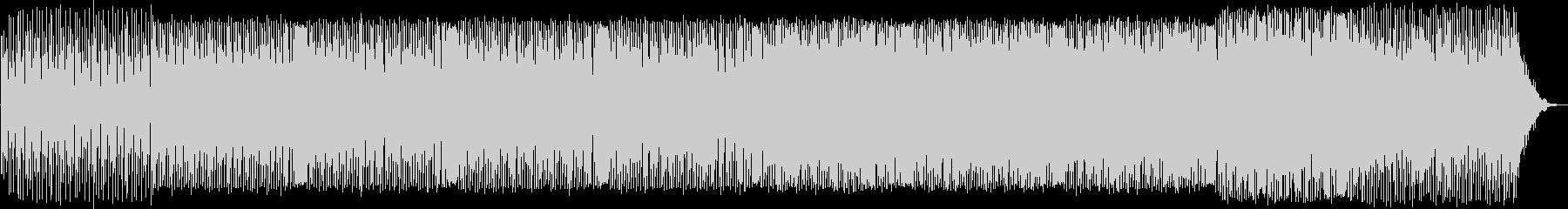 幻想的なシンセサウンドが特徴のテクノの未再生の波形