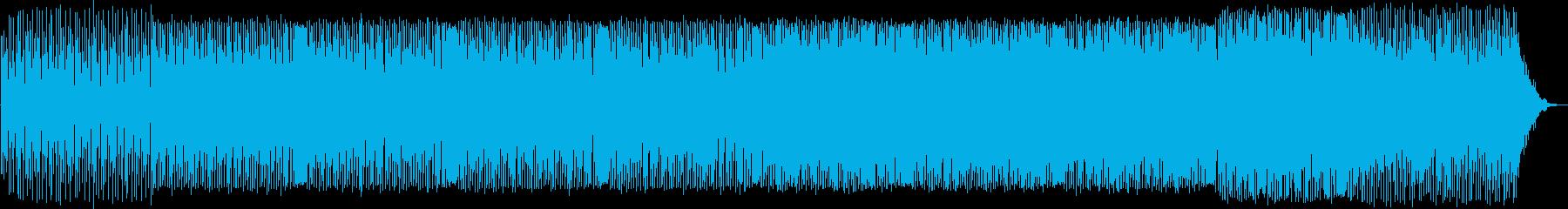 幻想的なシンセサウンドが特徴のテクノの再生済みの波形