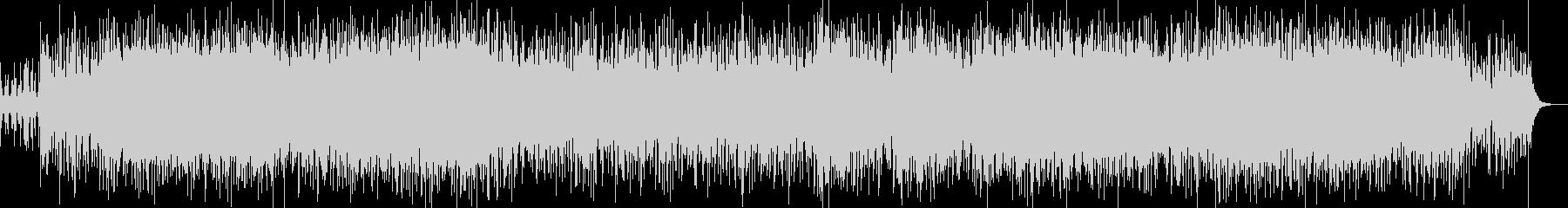 民族調+電子音=変な感じの未再生の波形