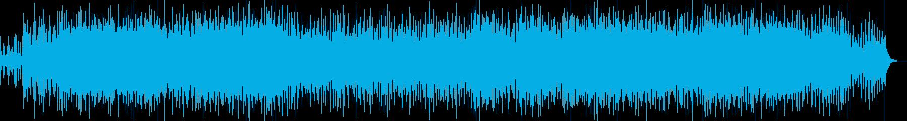 民族調+電子音=変な感じの再生済みの波形