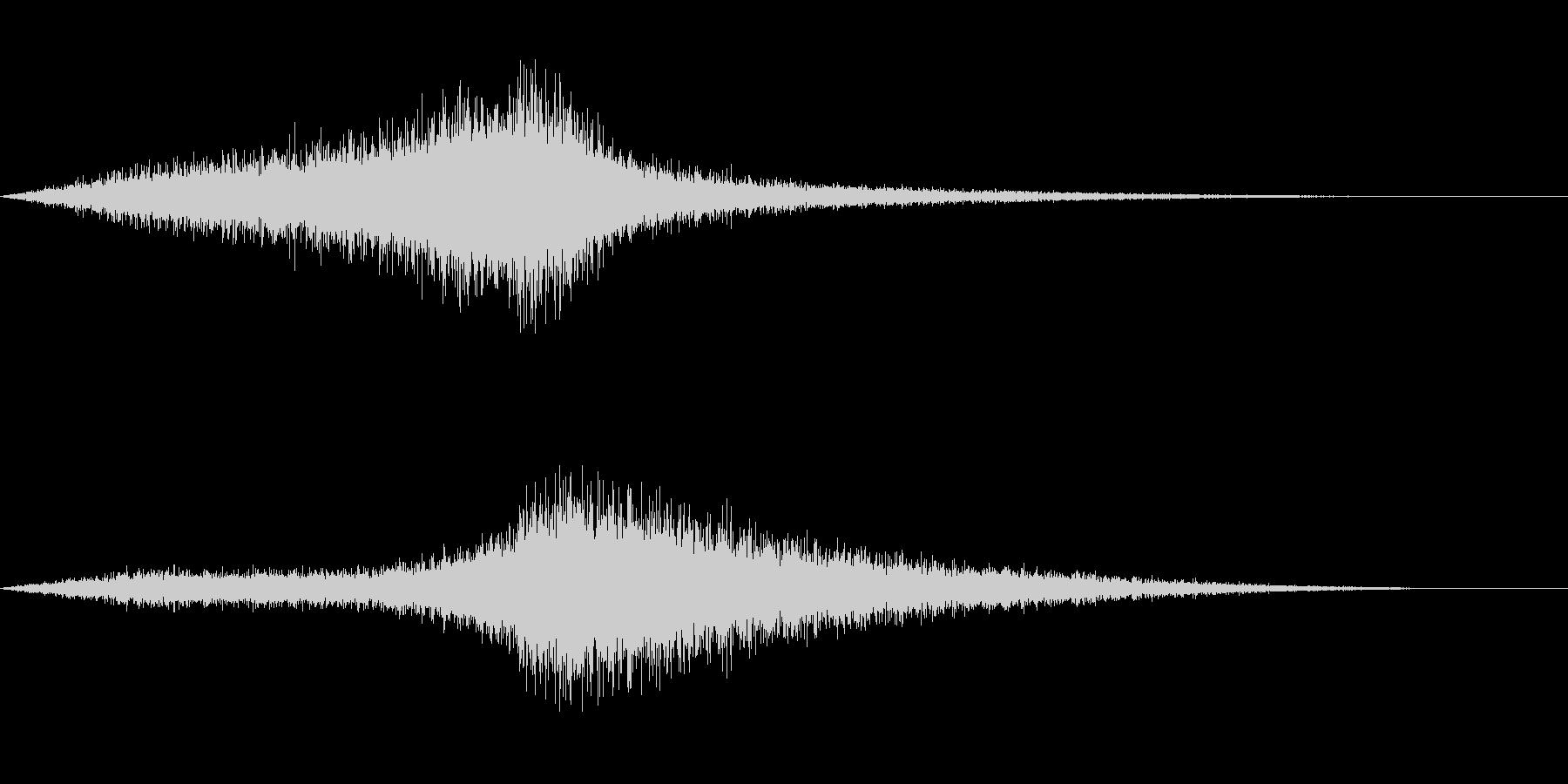 【生録音】 早朝の街 交通 環境音 5の未再生の波形