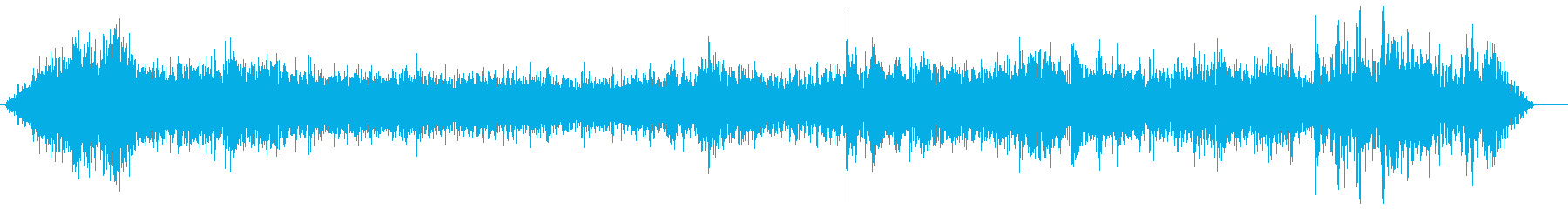 爆弾低気圧の風 ゴーゴーゴーの再生済みの波形
