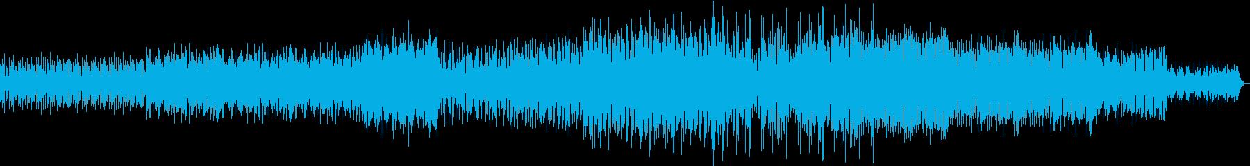 テクノロジーなエレクトロサウンドの再生済みの波形