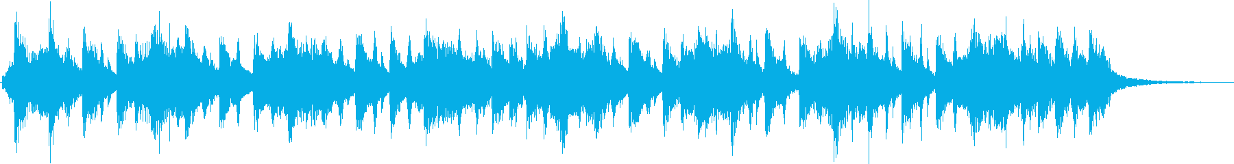 Colorful and cute jingle for children's reproduced waveform