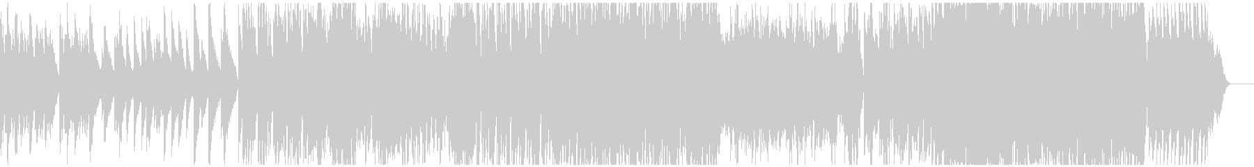 飴細工をイメージとしたキラキラしたBGMの未再生の波形