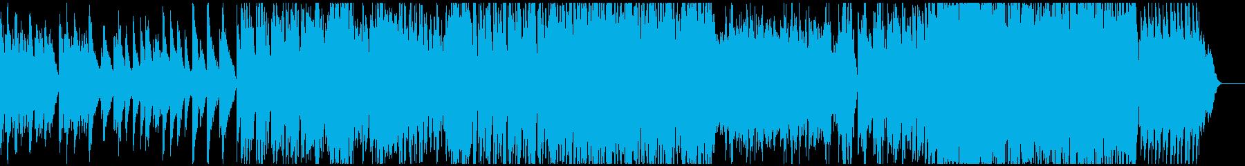 飴細工をイメージとしたキラキラしたBGMの再生済みの波形