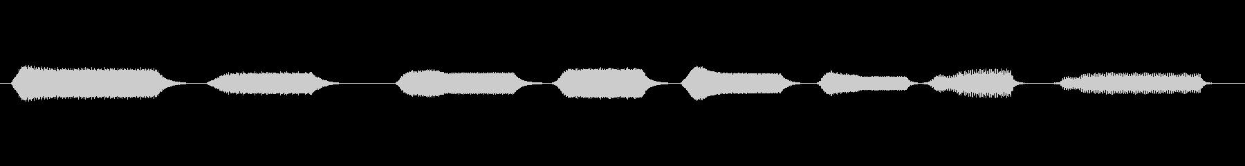 ワーブルトーン:8音階スケールアラ...の未再生の波形