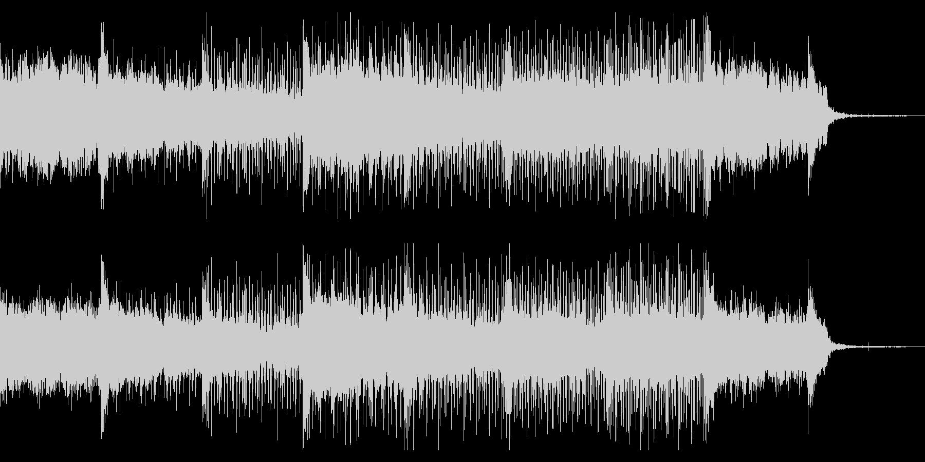 ダークで奇妙なグリッチアンビエントの未再生の波形