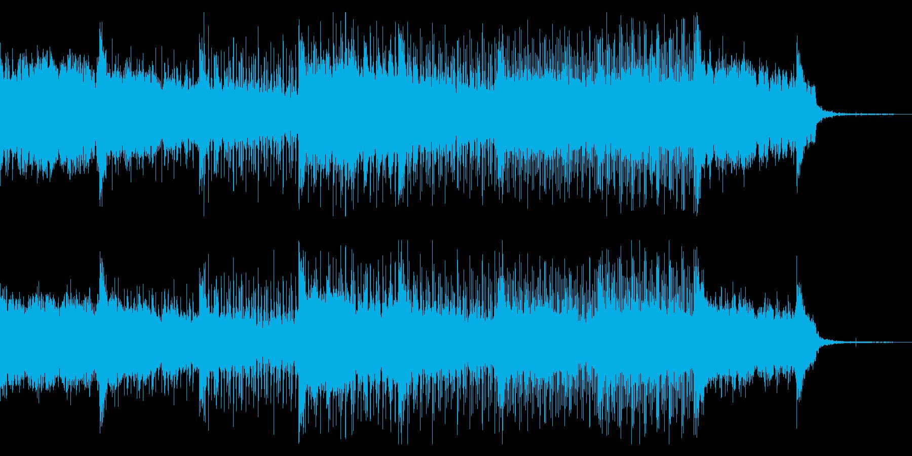ダークで奇妙なグリッチアンビエントの再生済みの波形