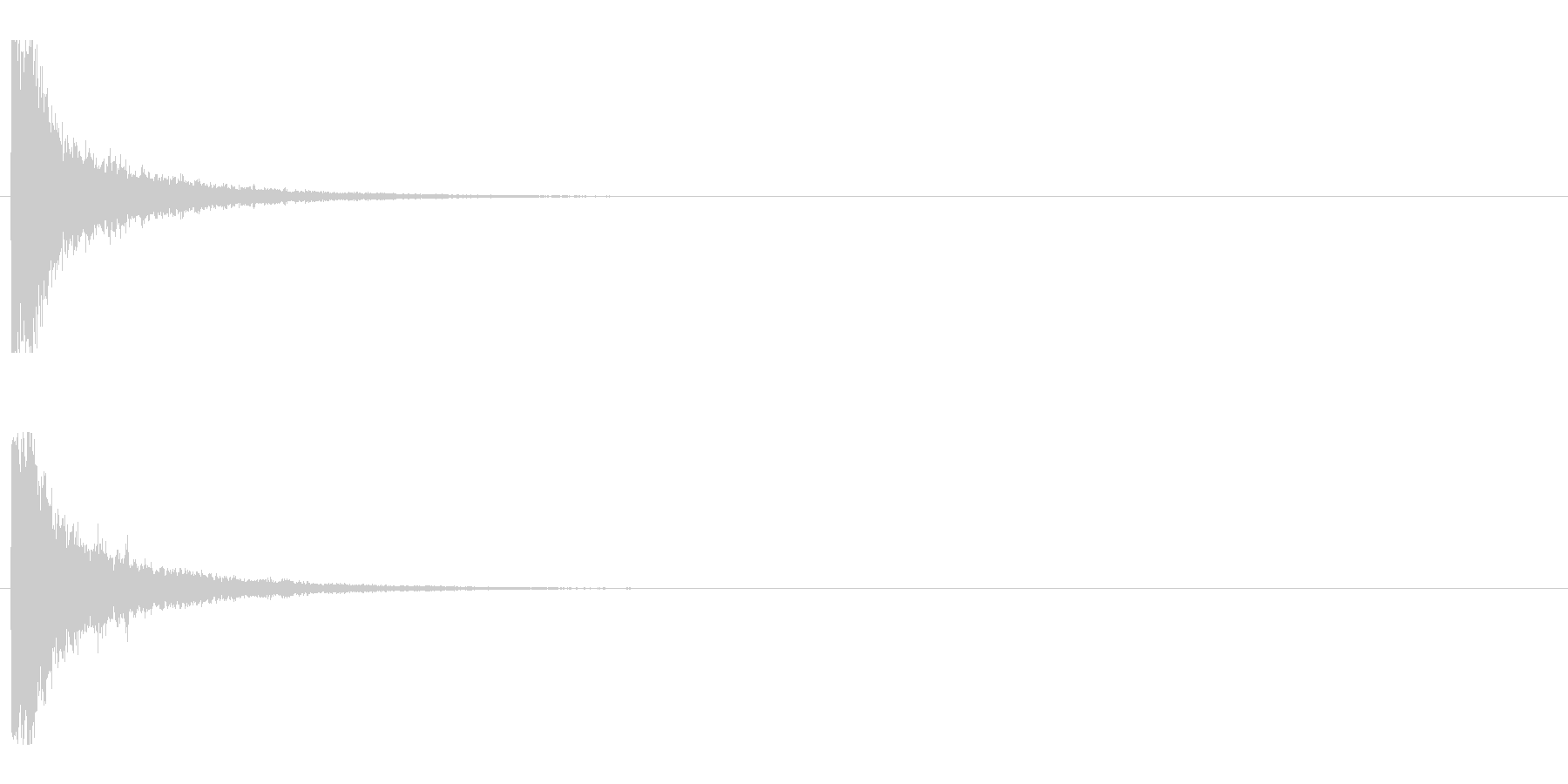 レーザー音-01-1の未再生の波形