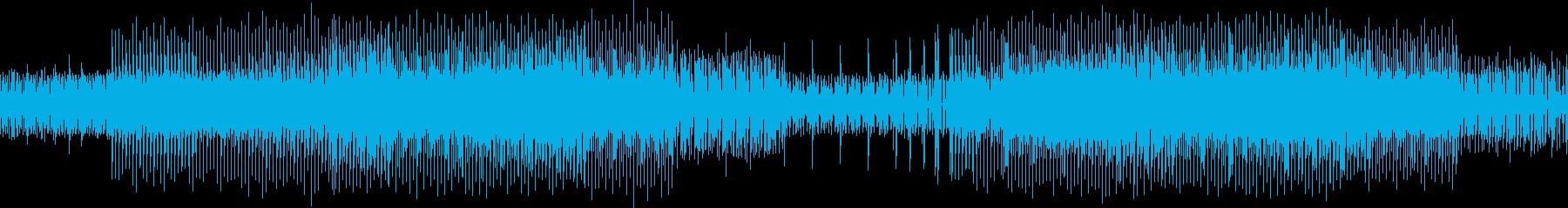 ループ仕様:淡々と仕事をこなすテクノの再生済みの波形