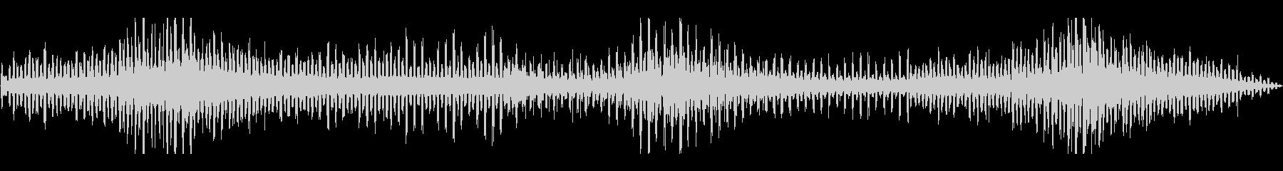 フランジ付きWHIRLYGIGの未再生の波形
