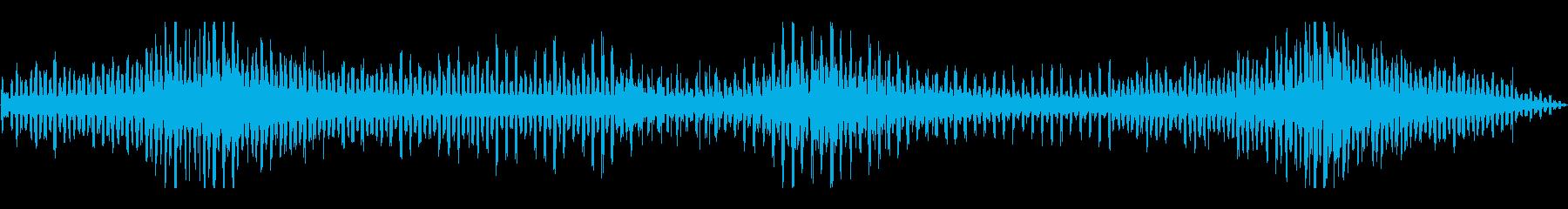 フランジ付きWHIRLYGIGの再生済みの波形