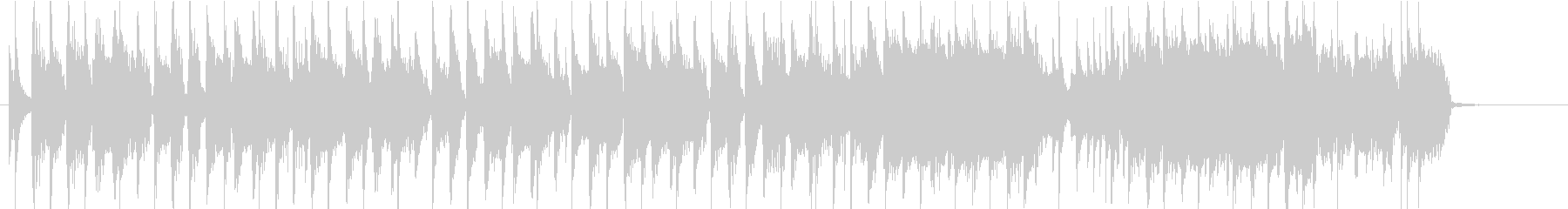 ノリノリなギターロック 30秒ジングルの未再生の波形