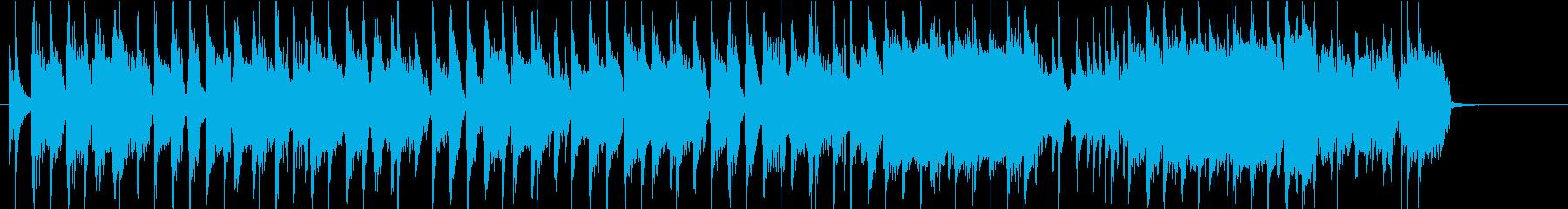 ノリノリなギターロック 30秒ジングルの再生済みの波形