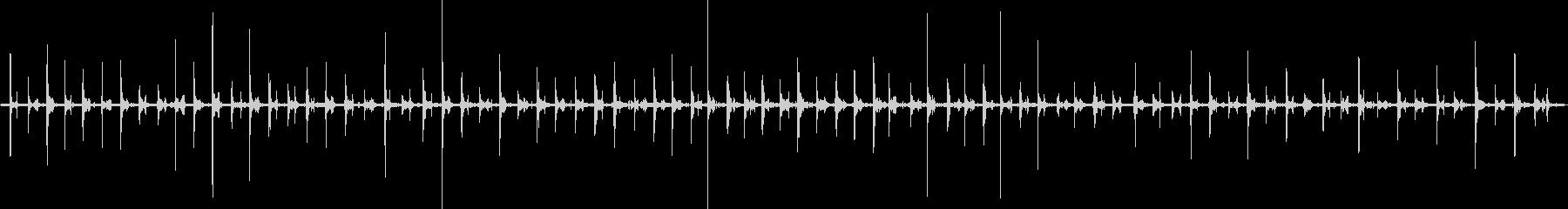 足音 女/歩く1パンプス+コンクリートの未再生の波形