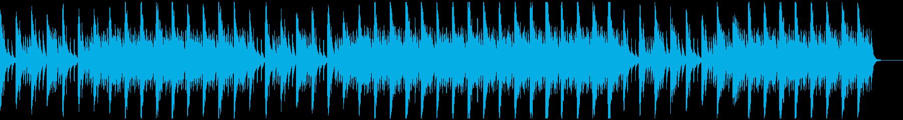メロディとコードのシンプルなピアノ3の再生済みの波形