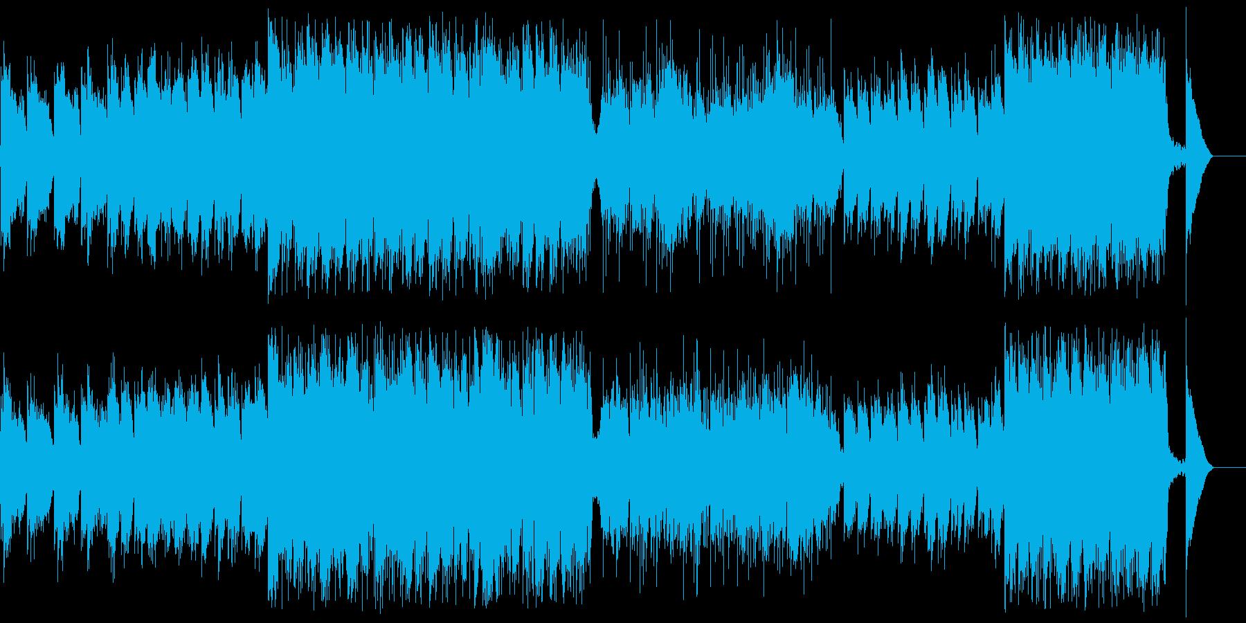 温かく神秘的な西洋サウンドの再生済みの波形