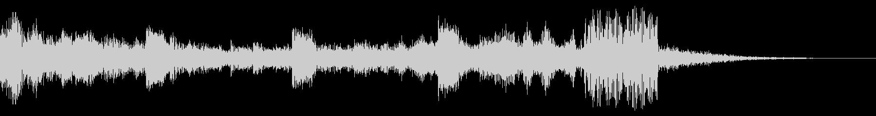 シンキングタイム(5秒)の未再生の波形
