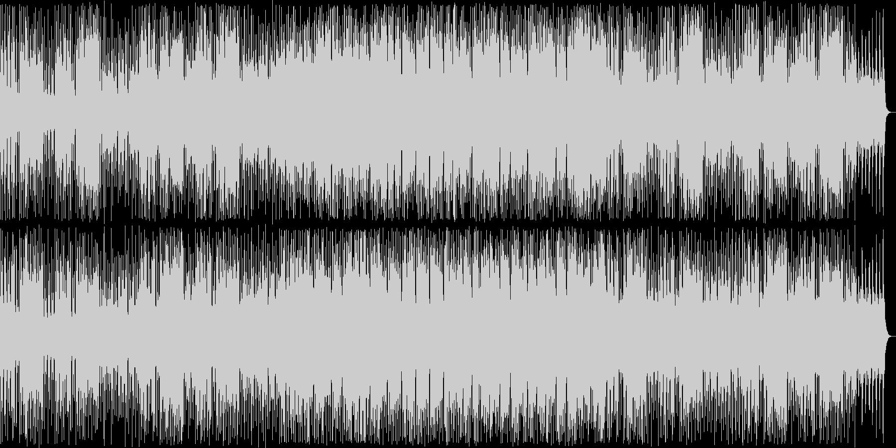 明るい管楽器シンセ系ポップの未再生の波形