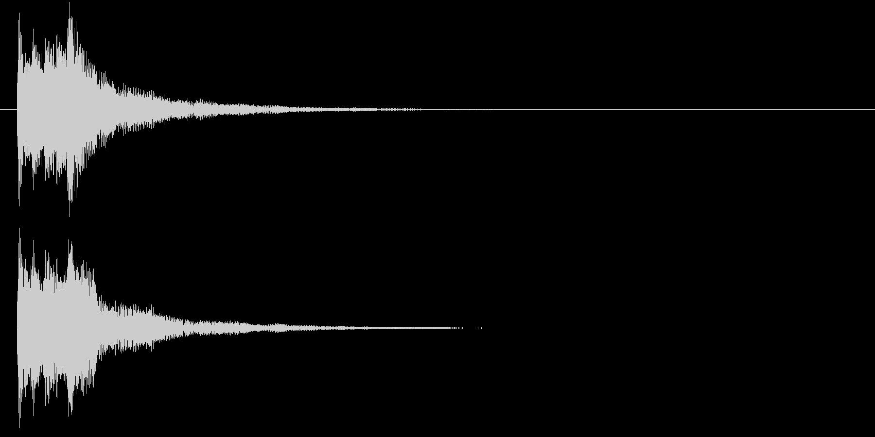 キラリン(レアアイテム・発見・クリア)の未再生の波形