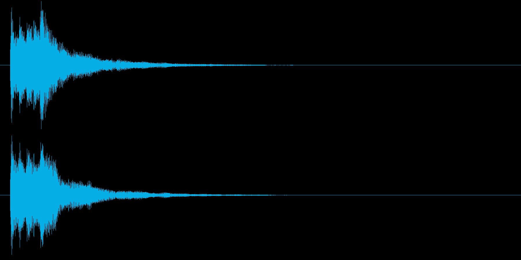 キラリン(レアアイテム・発見・クリア)の再生済みの波形
