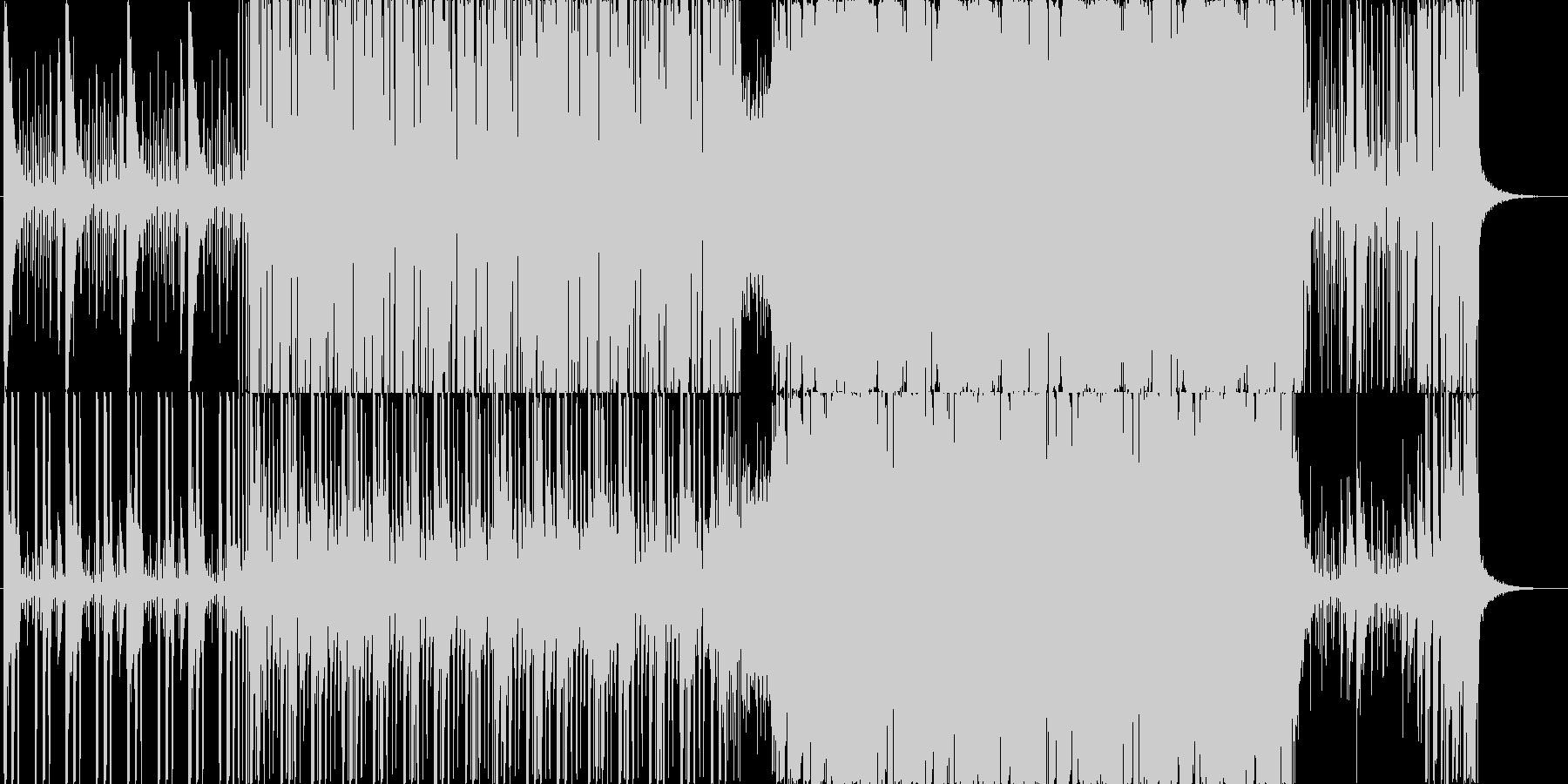 ファンクロック!の未再生の波形