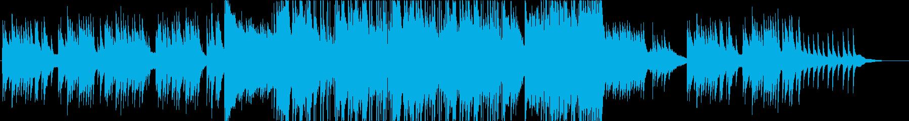 切なげな三拍子バラードの再生済みの波形