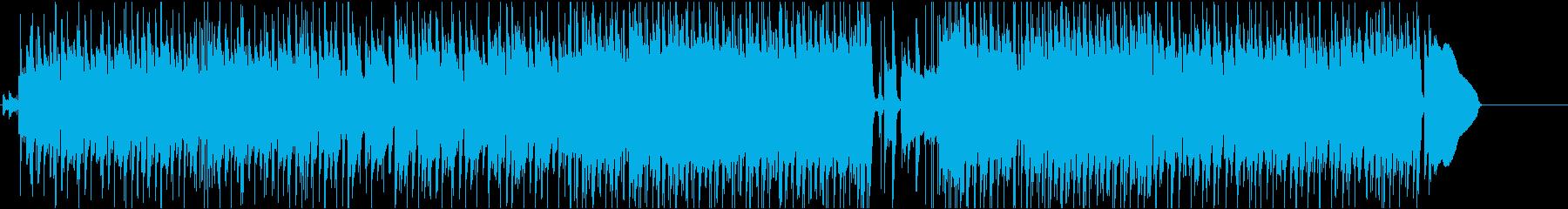 Lead BluesGuitarの再生済みの波形
