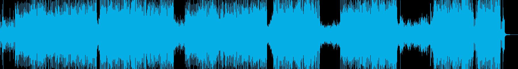 可愛く弾けるアニメ調ロック A2の再生済みの波形