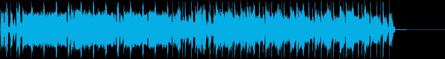 哀愁感漂うトランペットのジングルの再生済みの波形