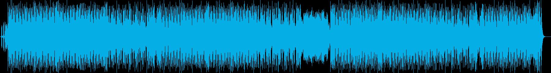 不思議なワンダーランドミュージックの再生済みの波形