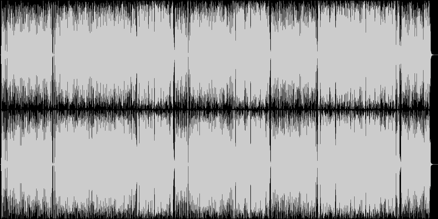 熱帯夜をイメージしたソウルナンバーの未再生の波形