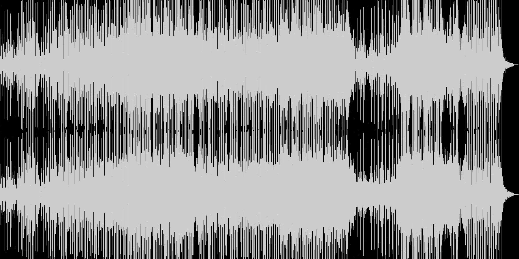 爽やかギター・聞き流せるR&Bの未再生の波形