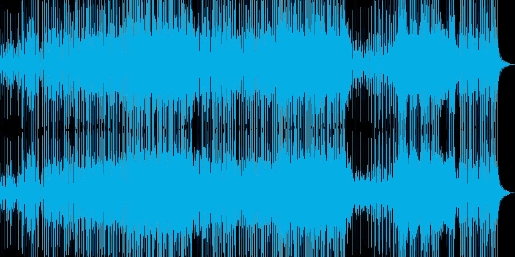 爽やかギター・聞き流せるR&Bの再生済みの波形