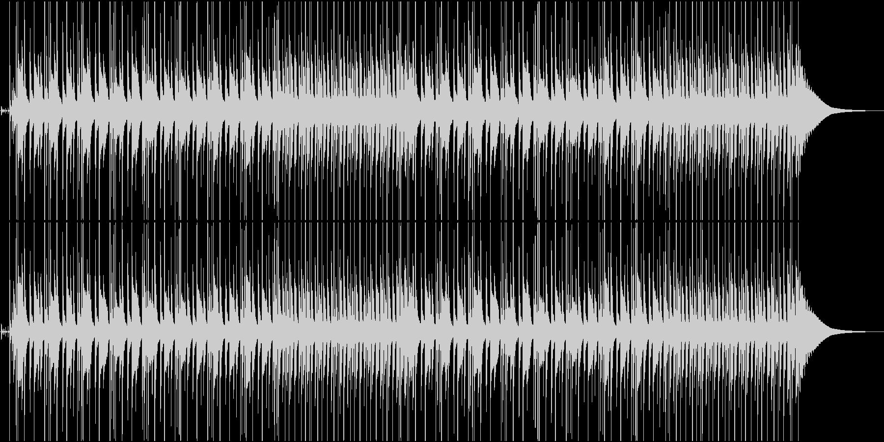 春らしい軽快なリズムのポップスの未再生の波形