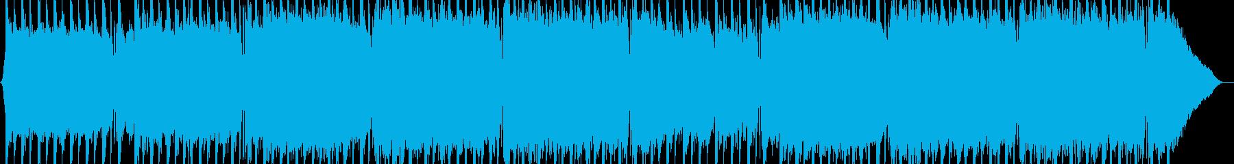 ドライブレトロスタイルのサウンドロックの再生済みの波形