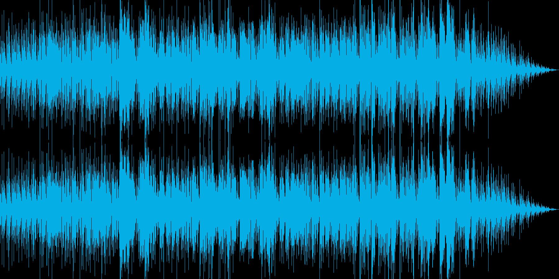 アコースティックギターが切ないポップスの再生済みの波形