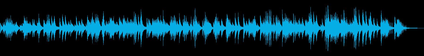 ゆったりムーディーなジャズ風ピアノソロの再生済みの波形