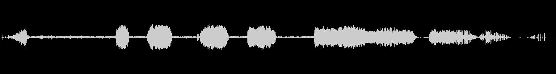 プラスチックドリル2:穴あけ、ショ...の未再生の波形