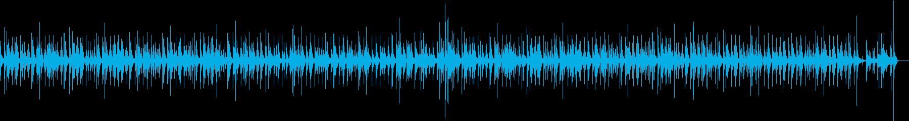 ジャズバーでのピアノトリオ演奏リラックスの再生済みの波形
