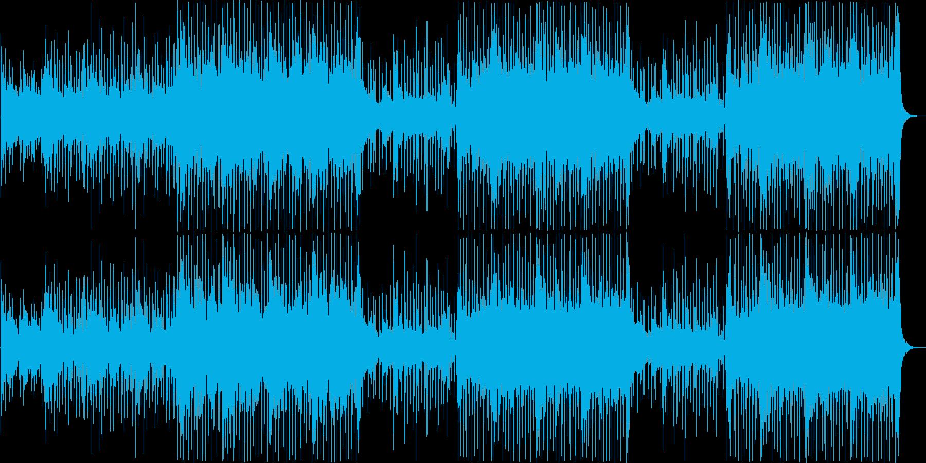 軽快でマイペースな楽観的サウンドの再生済みの波形