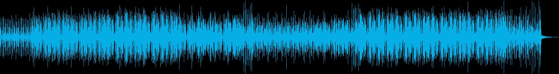 渋くておしゃれなジャズBGMの再生済みの波形