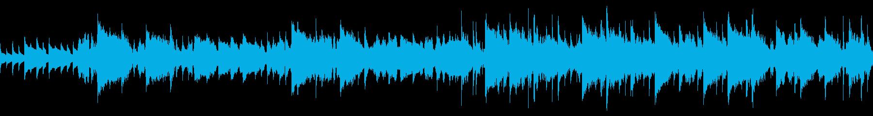 月の波紋 RPG ゲーム ループ 歌の再生済みの波形